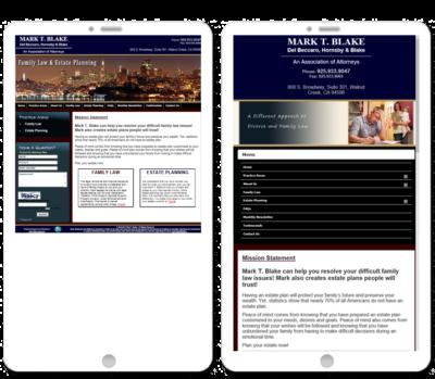 360 Web Designs Mobile comparision, mobile responsive websites