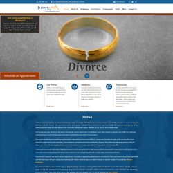 Jarratt Law Firm Website