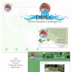 Desert Mountain Landscape Package