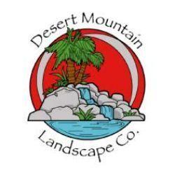 Desert Mountain Landscape Logo