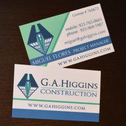 Higgins Business Card