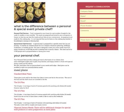 Lovecooknourish.com, typography, food, text layout, 360webdesigns.com, Annette Frei, Annette Frei blog,