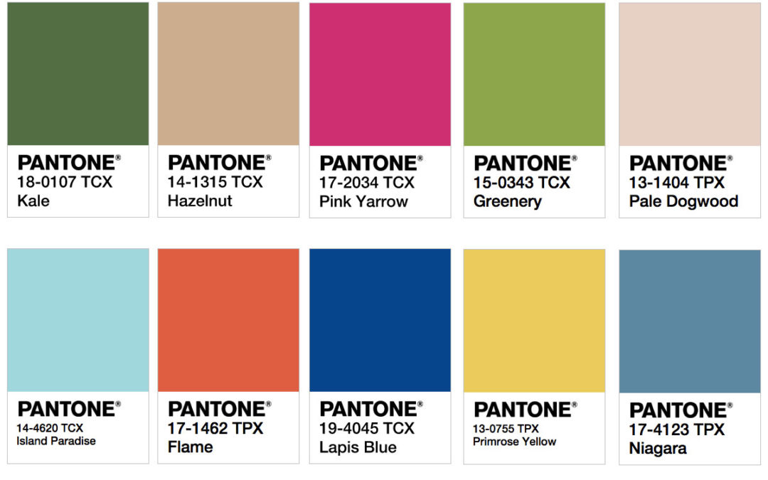 Design trends for 2017| pantone | 360 Web Designs | 2017 design trends