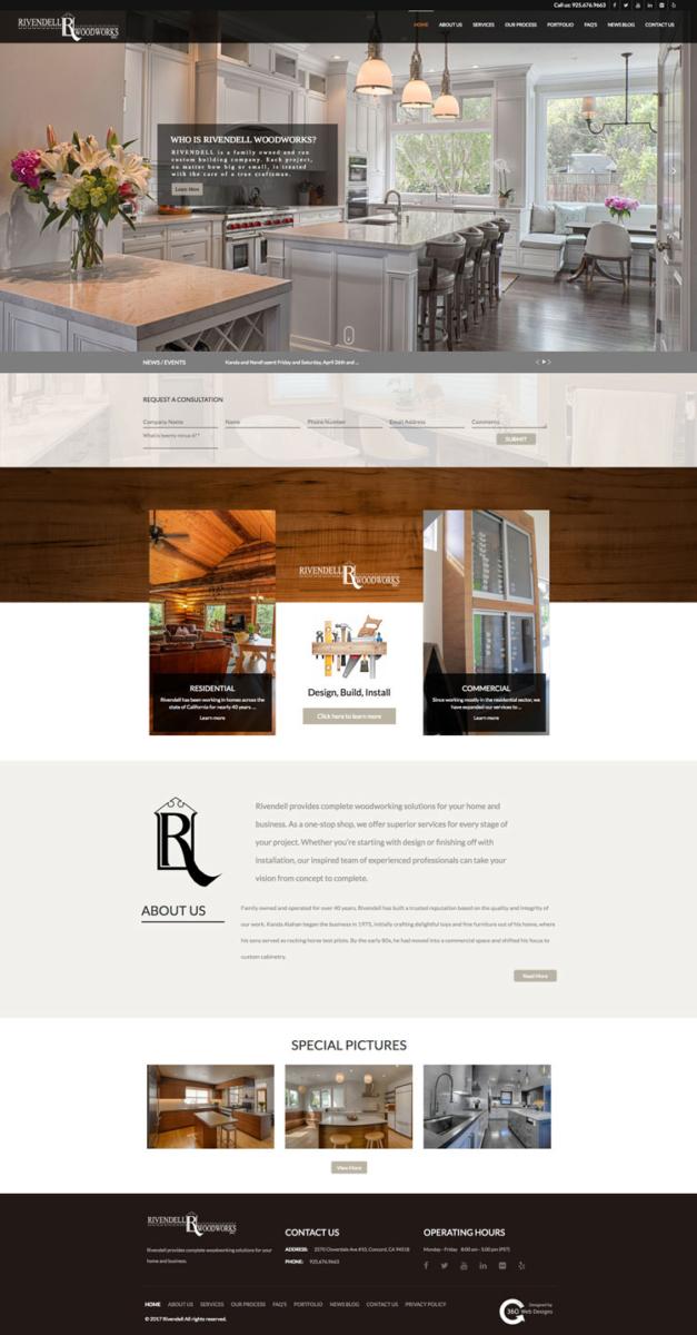 Portfolio | Rivendell |360 web designs