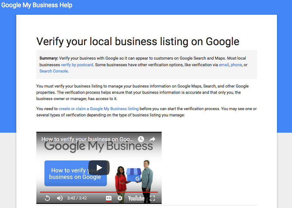 Google My Business tutorial | 360 Web Designs | Blog