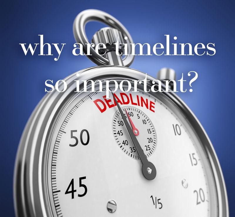 Deadlines | 360 Web Designs | Annette Frei