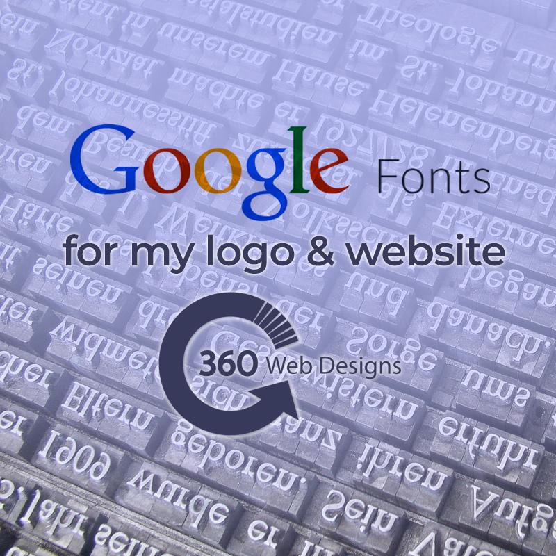 Google Font Blog | 360 Web Designs | Annette Frei