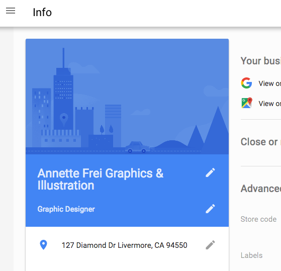 Google my Business | 360 WD