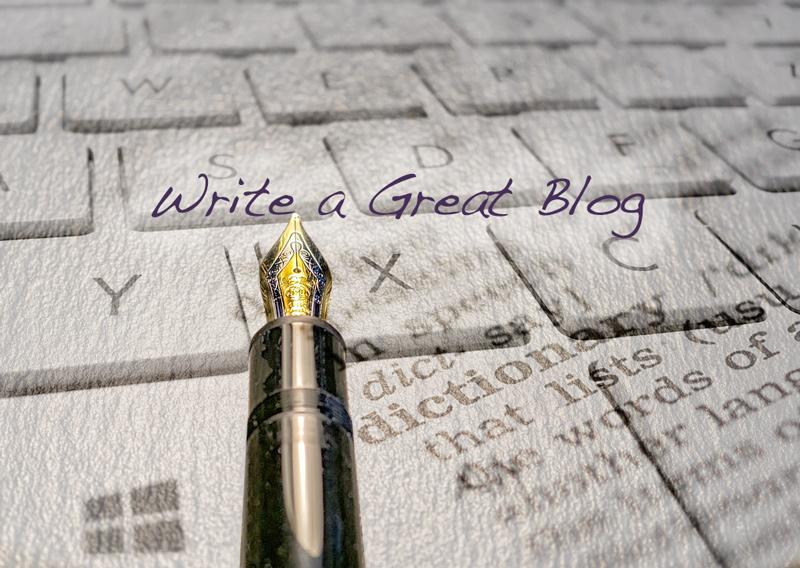 Write a blog | 360 Web Designs | Annette Frei