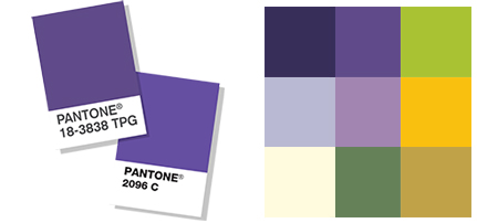 Annette Frei Color Palette with Ultra Violet | 360 Web Designs