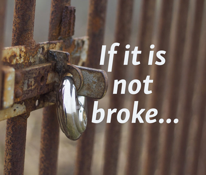 If Not Broke Blog | 360WD |Annette Frei