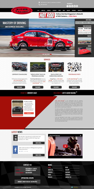Lifes Good Racing 360 Web Designs 360 Web Designs
