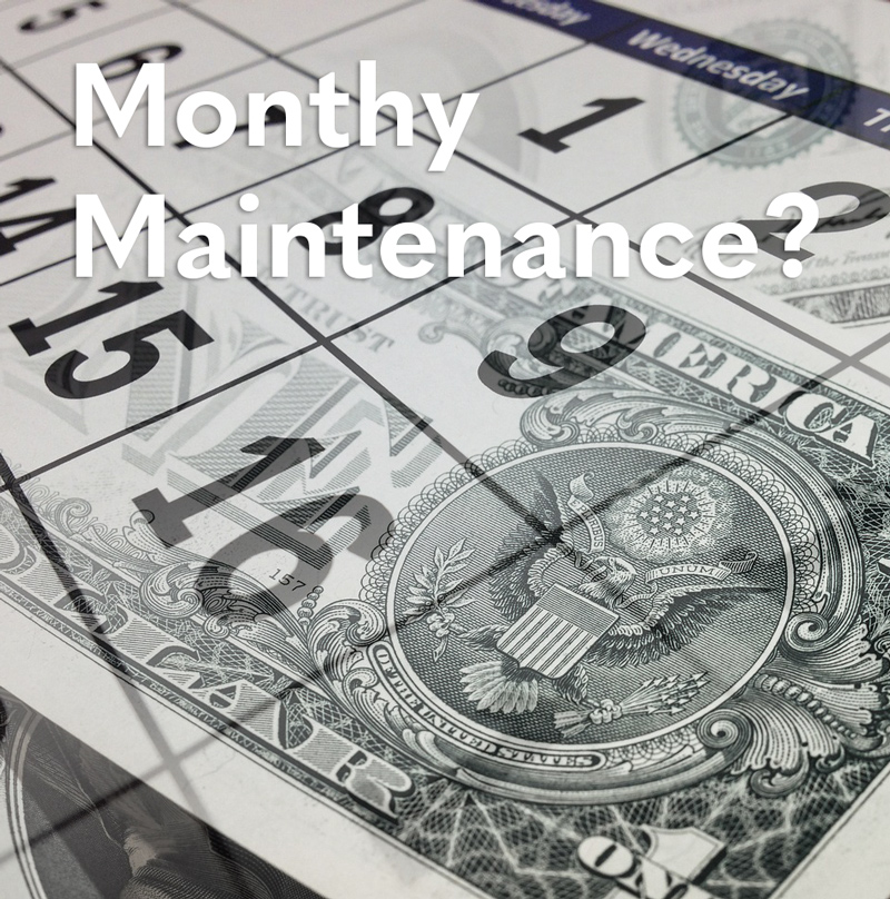 Why Should I Pay a Monthly Web Maintenance Fee? - 360 Web ...